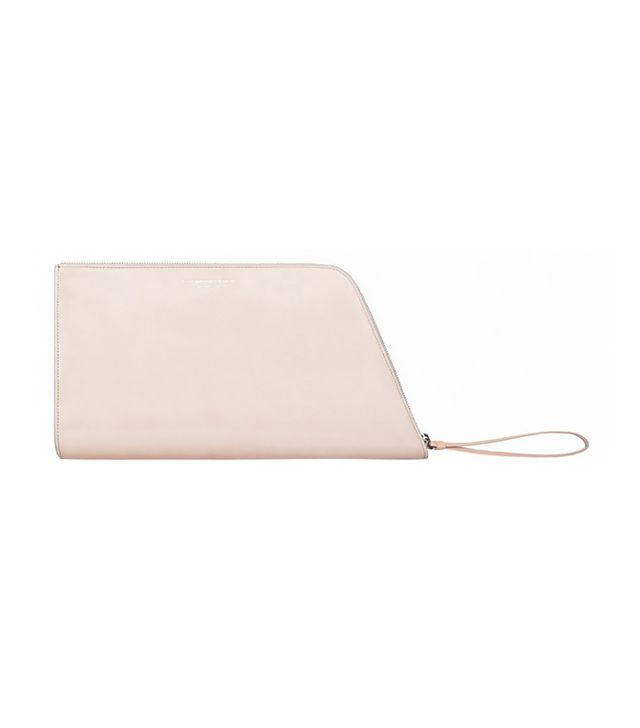 Narciso Rodriguez Large Lizard Blade Clutch