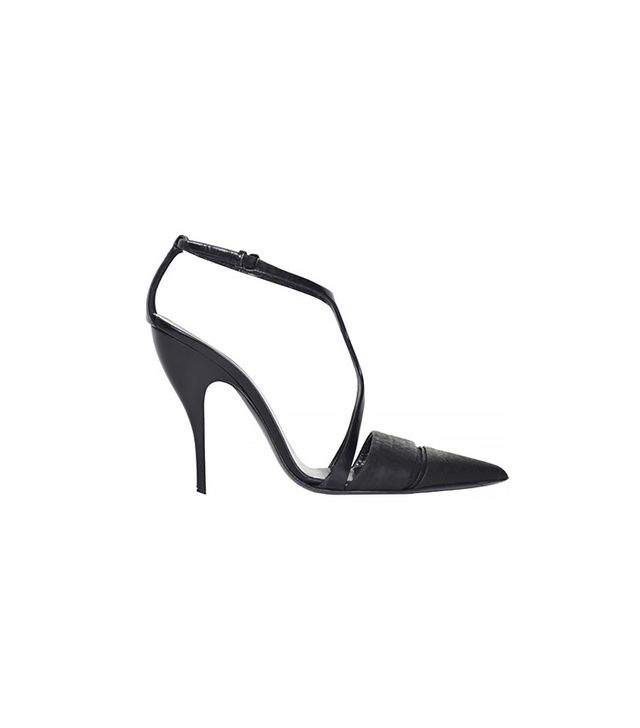 Narciso Rodriguez Black T-Strap Shoes
