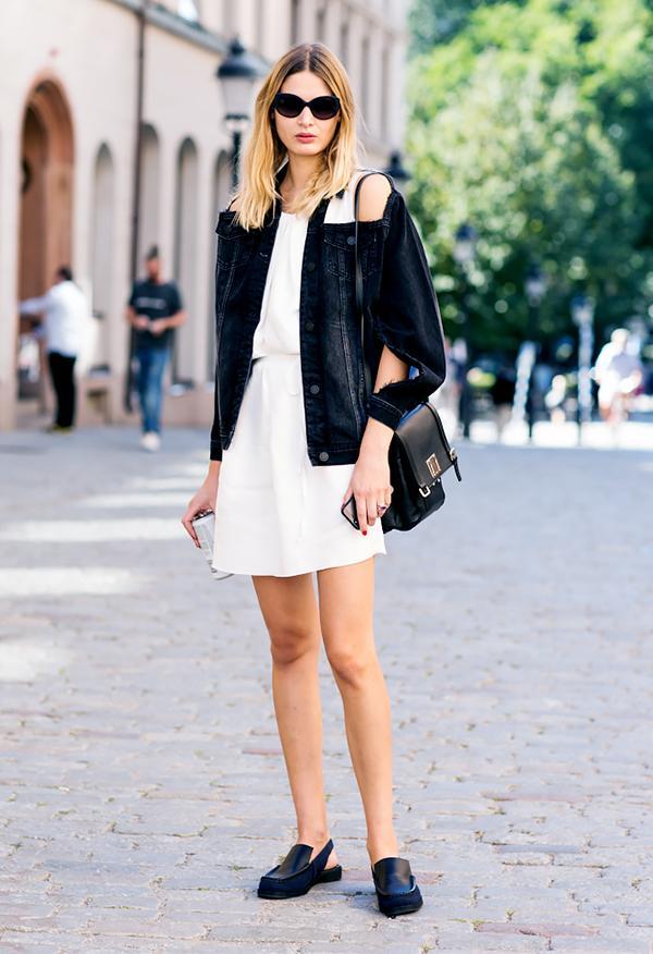 Breezy Dress + Denim Jacket
