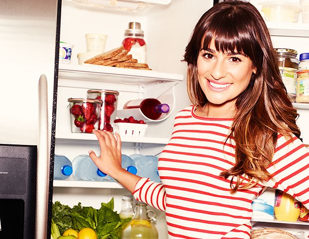 Behind Closed Doors: A Peek Inside Lea Michele's Fridge