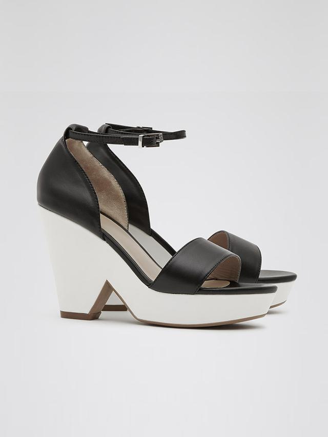 Reiss Platform Wedge Sandals