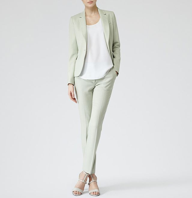 Reiss Textured Tailored Trousers