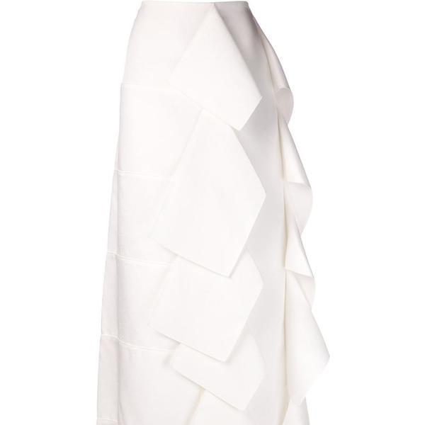 Maison Rabih Kayrouz long origami skirt