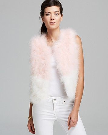 Maximilian Feather Vest