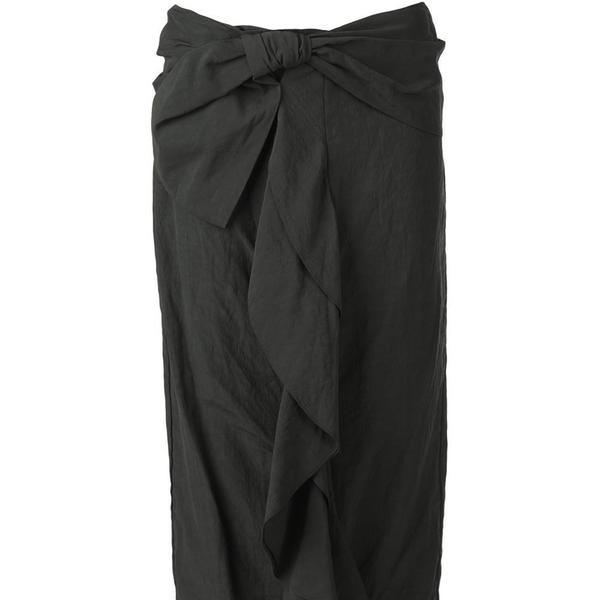 Marni draped ruffle midi skirt