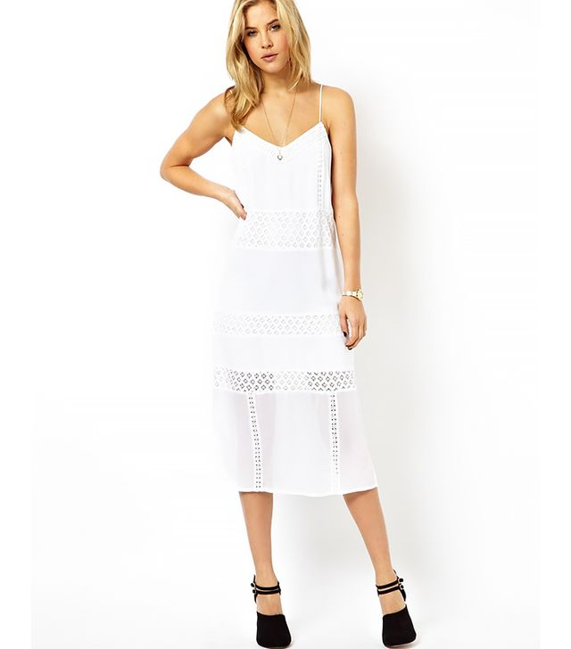 ASOS Sundress with Embroidered Panels