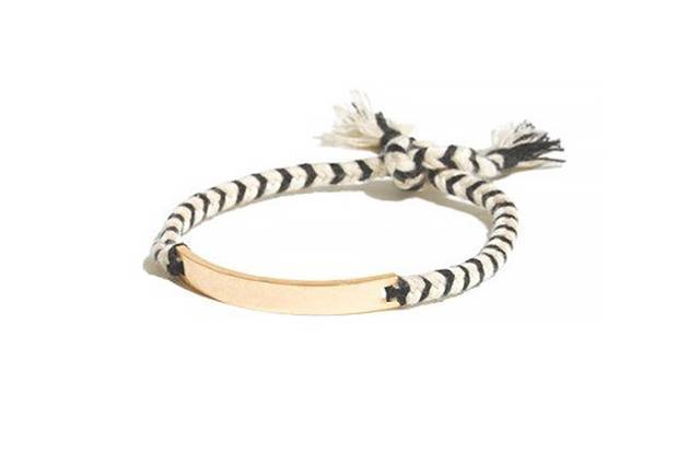 Madewell Braided ID Bracelet
