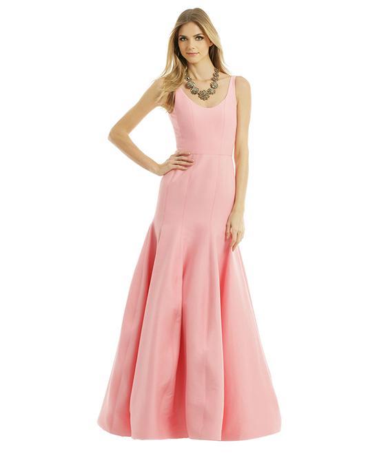 Halston Heritage Ballet Slipper Gown