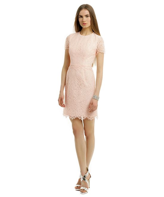 Shoshanna Petal Lace Dress