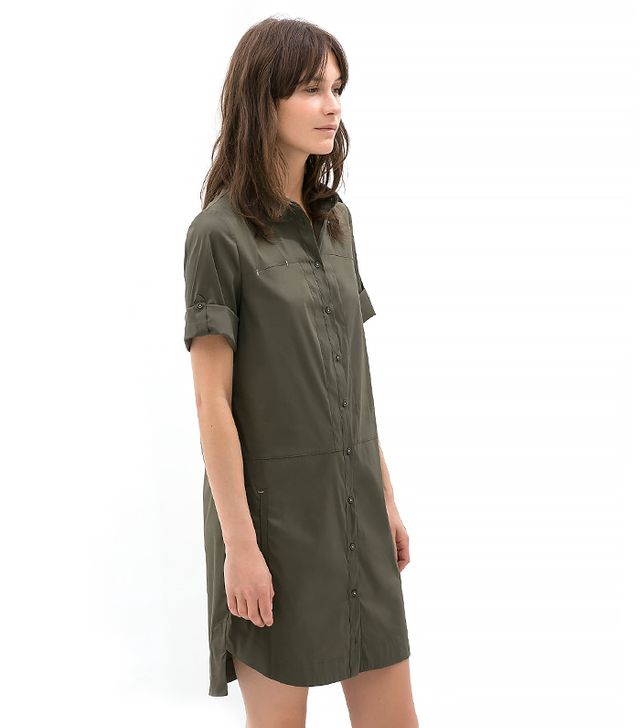 Zara Poplin Shirtdress