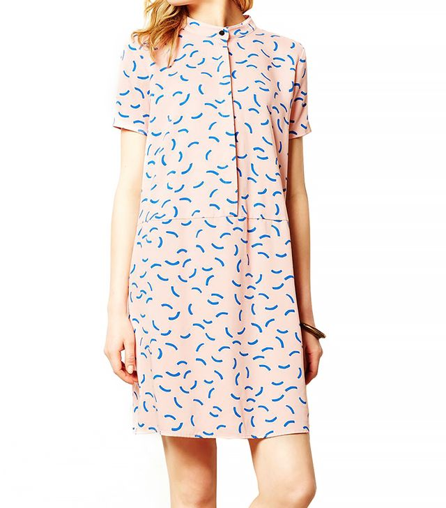 Anthropologie Scattered Curves Shirt Dress