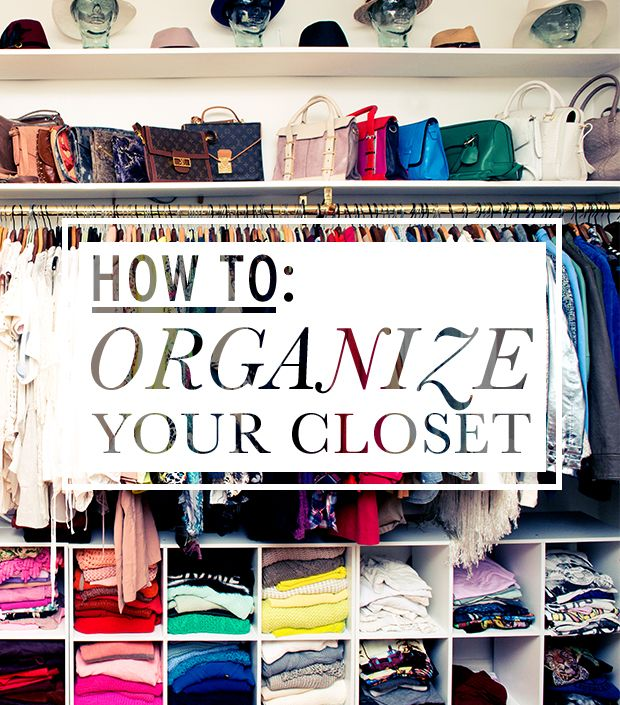 The Experts Spill Their Tips For A Clean, Well-Organized Closet ...