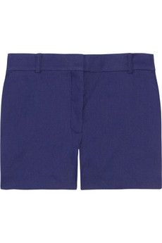 Acne  Bonnie Tailored Linen-Blend Shorts