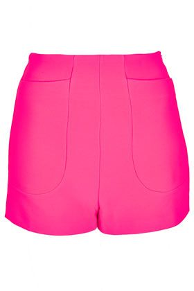 Topshop High Waist Jersey Shorts