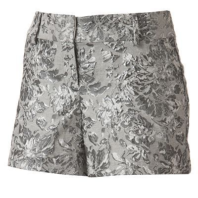 LC Lauren Conrad Brocade Shorts