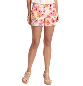 Loft Linen and Cotton Shorts