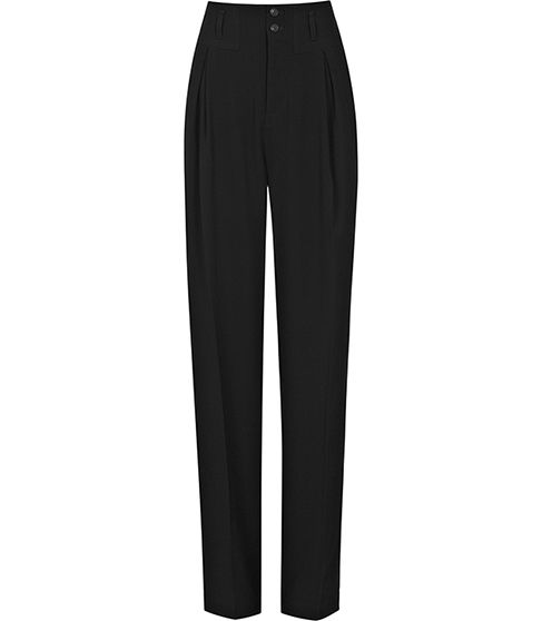 Reiss Sara Front Fold Trousers