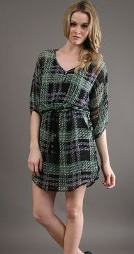 Harper Renee  Dress in Party Plaid