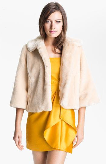 Shoshanna  Celia Faux Fur Jacket