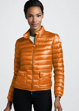 Monclear  Short Lightweight Puffer Jacket