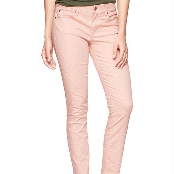 Gap 1969 Polka Dot Legging Skimmer Jeans