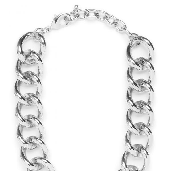 BaubleBar  Silver Chain Collar