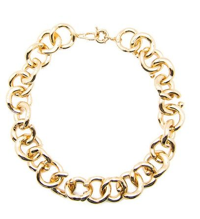 Lily Wang  Tacey Chunky Chain Link Necklace