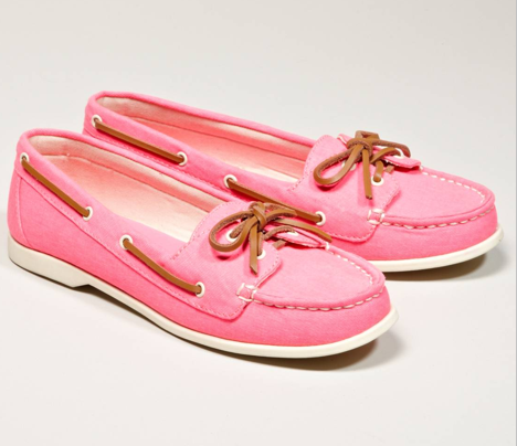 American Eagle Canvas Boat Shoes