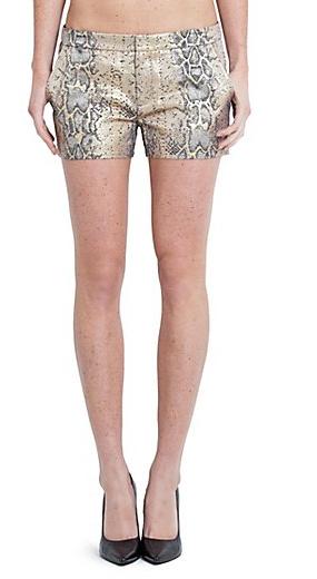 Guess Biydie Python Jacquard Shorts