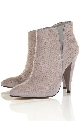 Topshop ATLER2 Pinstud Pointed Boots