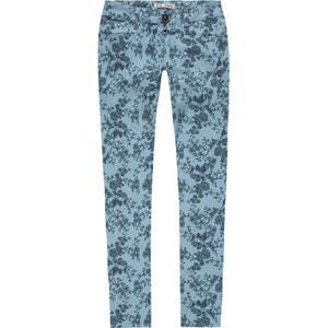 Zco.  Floral Skinny Pants