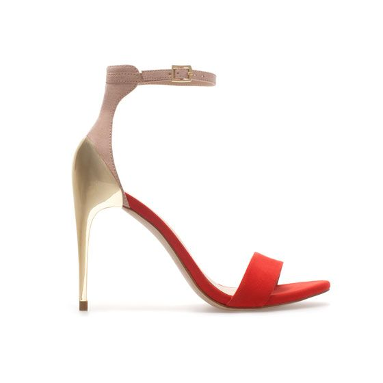 Zara  Combination High Heel Sandals