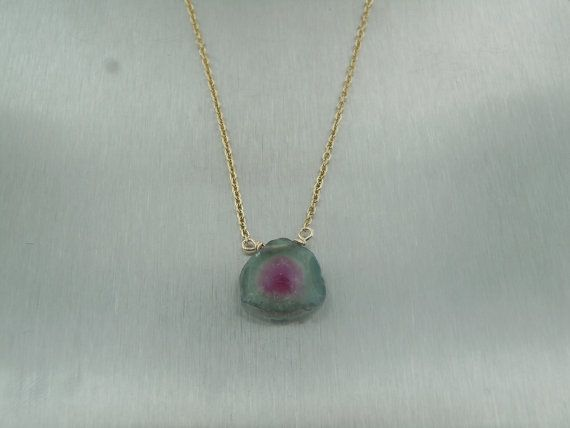 KCD by Kyle Chan Watermelon Tourmaline Necklace