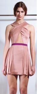 Tsemaye Binitie  Tsemaye Binitie Dusty Rose Dress