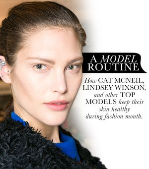 How Top Models Care for Their Skin