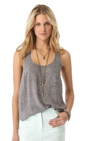 Splendid Splendid Shirting Tank