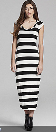 ING Bold Striped Maxi Dress