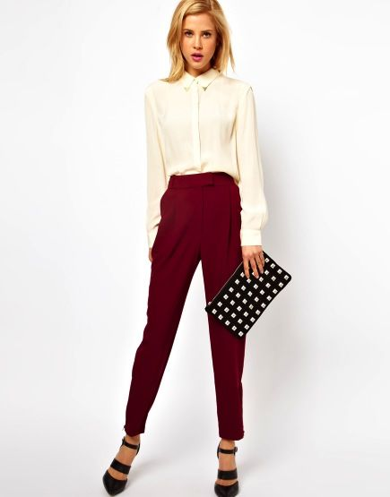 ASOS ASOS Pants with Zip Hem