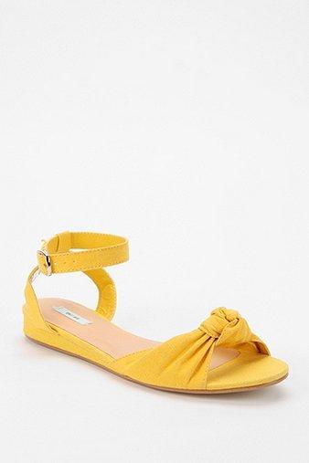 Kimchi Blue  Pinup Mini-Wedge Sandals