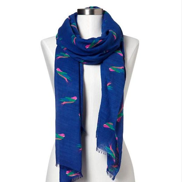 Gap Bird Print Scarf