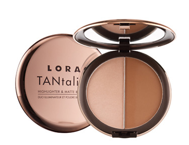 Lorac Tantalizer Highlighter and Matte Bronzer Duo