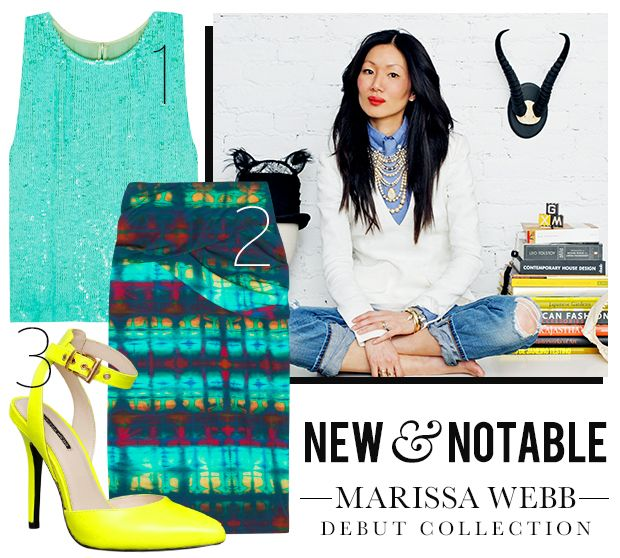 Check Out Designer Marissa Webb's Knockout Debut Collection