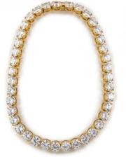Fallon Fallon Classique Crystal Collar Necklace