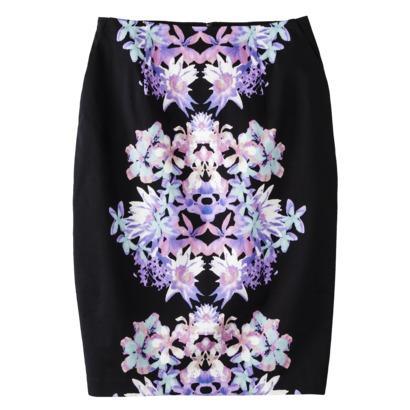 Mossimo Zipper Pencil Skirt