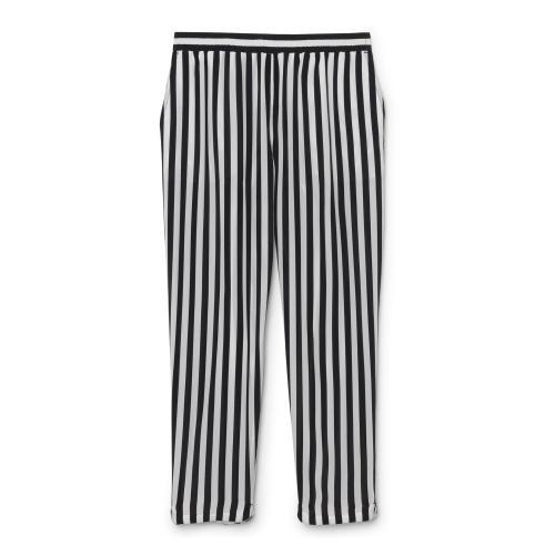 Club Monaco Patricia Striped Silk Pants