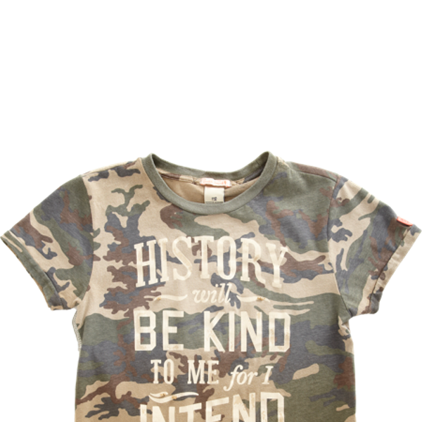 Scotch Shrunk  Camo Tee ($52)
