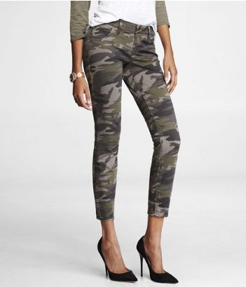 Express  Stella Brushed Sateen Ankle Legging