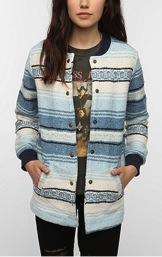 Urban Outfitters Urban Outfitters Urban Renewal Baja Bomber Jacket