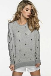 Guess Guess Embellished Sweatshirt