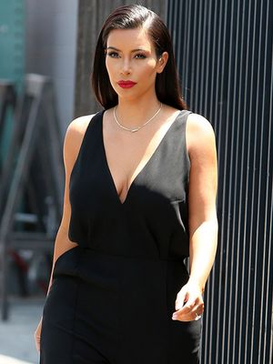 Kim Kardashian Is Minimalist Chic In All Black